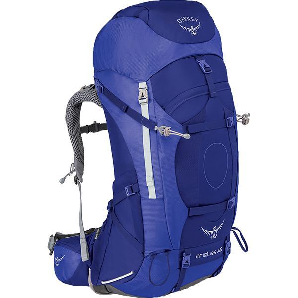 OSPREY オスプレー エーリエルAG 65/タイダルブルー/M OS50066003005 女性用 ブルー バックパック ザック アウトドア 釣り 旅行用品 トレッキングパック