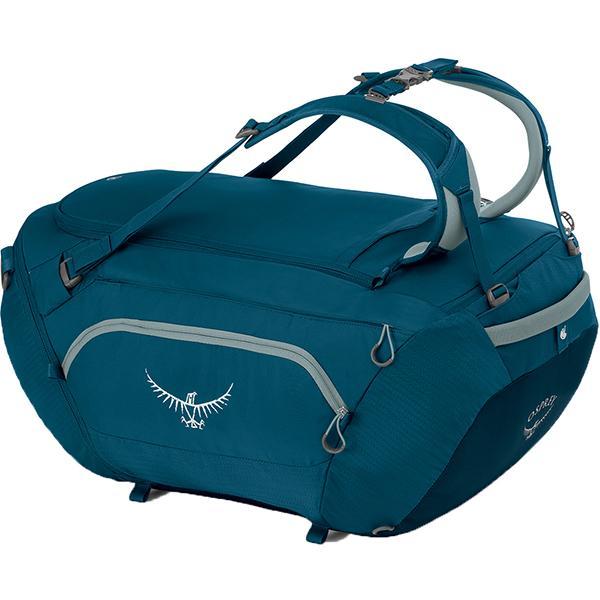 OSPREY オスプレー ビックキット 75/アイスブルー/ワンサイズ OS55191002001 ブルー ダッフルバッグ アウトドア 釣り 旅行用品 キャンプ ダッフル