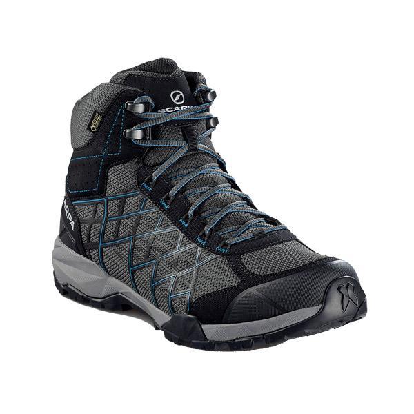 SCARPA スカルパ ハイドロジェン HIKE GTX/ダークグレー/レイクブルー/#46 SC22030001460 グレー 登山靴 トレッキングシューズ アウトドア 釣り 旅行用品