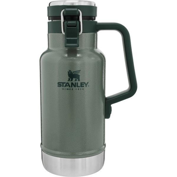 STANLEY スタンレー クラシック真空グロウラー 1L/グリーン 02111-013 ウォータージャグ アウトドア 釣り 旅行用品 キャンプ ボトル|od-yamakei