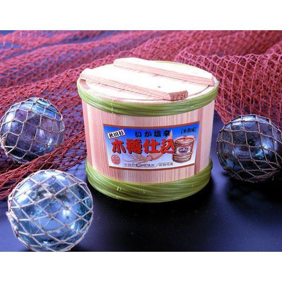 木樽仕込いか塩辛杉樽400g 毎日函館から手作りをクール便で直送!TV・雑誌で話題の発酵食品! odajimasuisan