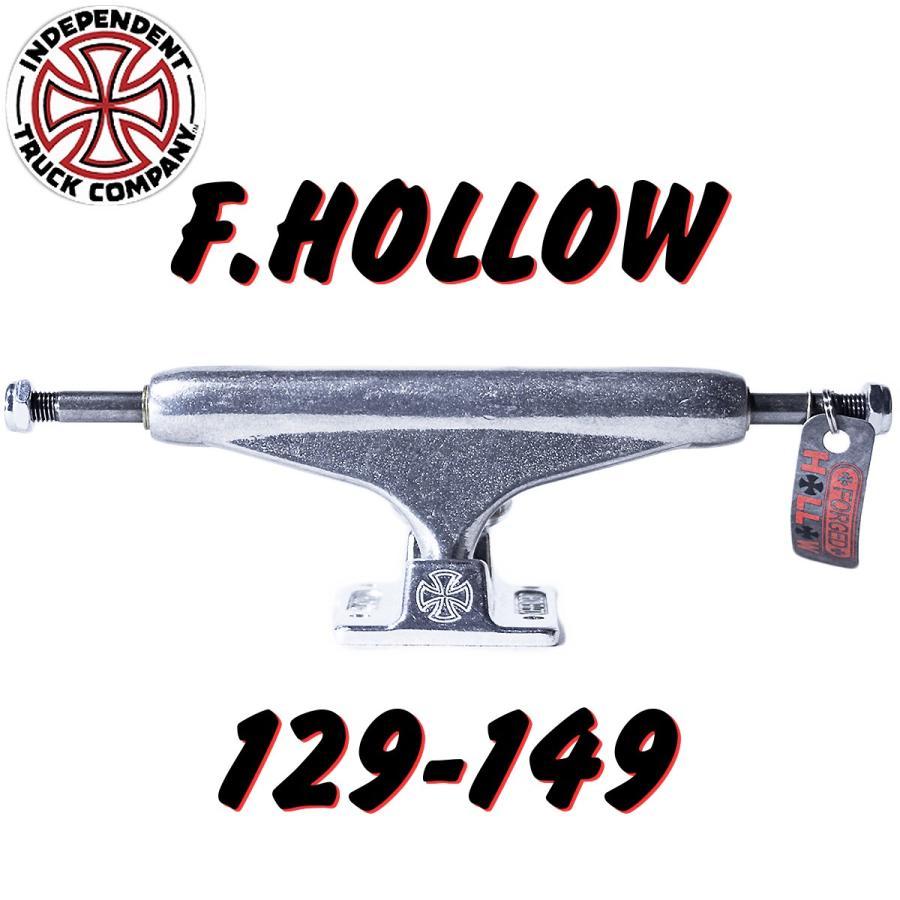 INDEPENDENT (インディー,トラック,フォージッドフォロー,129,139,144,149,159) FORGED HOLLOW 銀 129 139 144 149