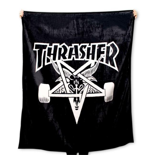 THRASHER (スラッシャー,ブランケット) SKATEGOAT BLANKET