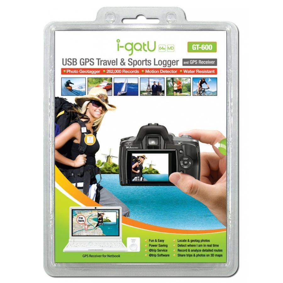 i-gotU USB GPS Travel /& Sports Logger GT-600