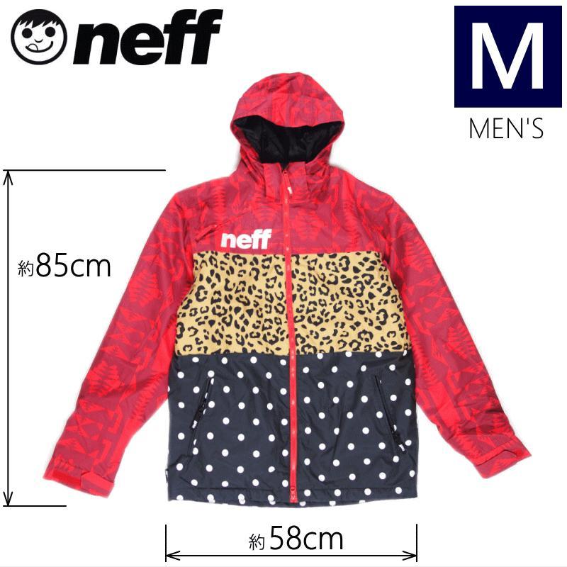 ◆メンズ[Mサイズ] NEFF TRIPLE JKT カラー:WILD ネフのスキースノーボードウェア スタンダードなシルエットのレギュラーフィットモデル メンズジャケット