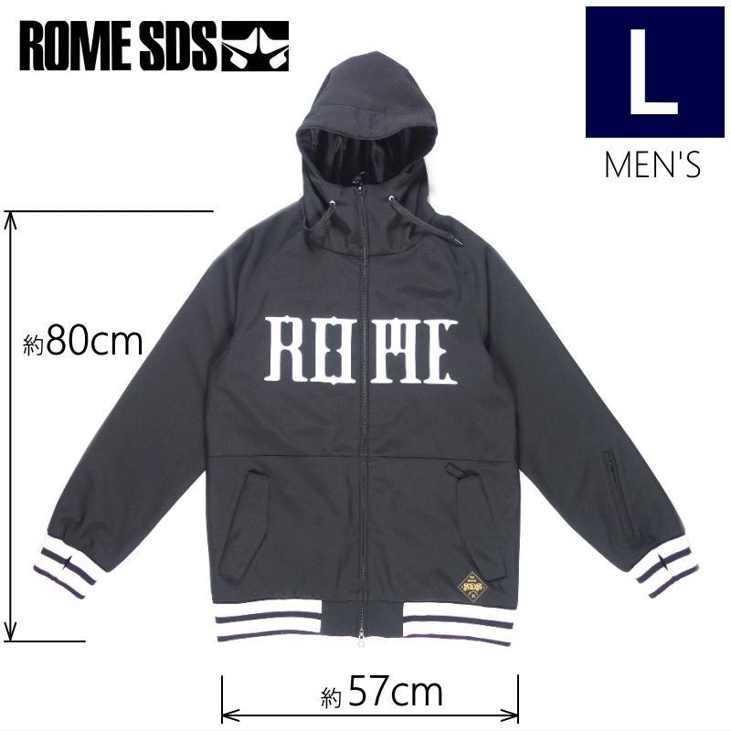 ◎メンズ[Lサイズ] 18 ROME SDS JKT カラー:黒 スノーボードウェア ジャケット ローム メンズ スノボウェア メンズジャケット ソフトシェルジャケット