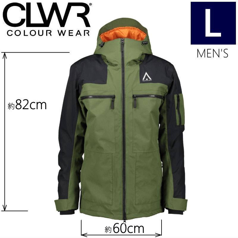 【ラス1】★メンズ[Lサイズ]CLWR FRAME JKT カラー:OLIVE カラーウェア メンズジャケット スノーボードウェア COLOUR WEAR JACKET 日本正規品型落ち 旧モデル