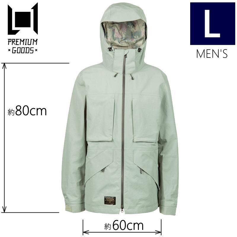 ★メンズ[Lサイズ]L1 ALPHA JKT カラー:SILT エルワン スキー スノーボードウェア メンズジャケット アルファジャケット JACKET型落ち 旧モデル
