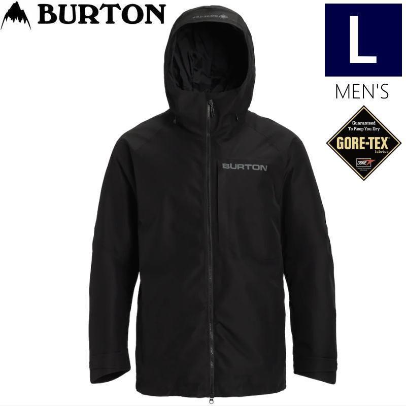 ☆メンズ[Lサイズ]20 BURTON GORE-TEX RADIAL SHELL JKT カラー:TRUE 黒 バートン ゴアテックス スキースノーボードウェア ジャケット