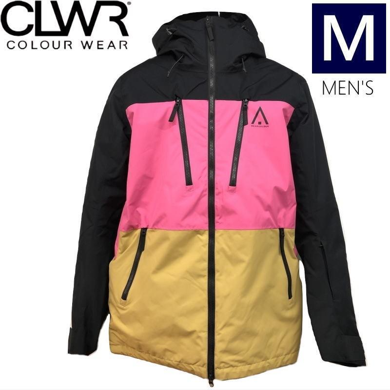 ☆メンズ[Mサイズ]20 CLWR GRID JKT カラー:黒E カラーウェア メンズジャケット グリッドジャケット スキー スノーボードウェア