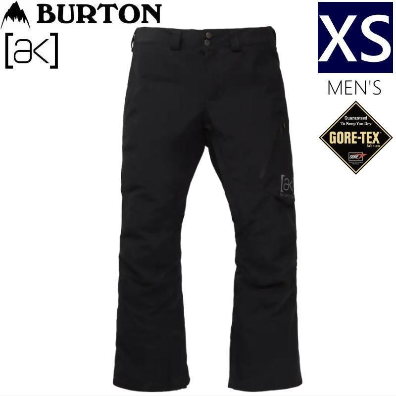 ☆メンズ[XSサイズ]20 BURTON [ak] GORE-TEX CYCLIC PNT カラー:TRUE 黒 バートン ゴアテックス スキー スノーボードウェア メンズパンツ