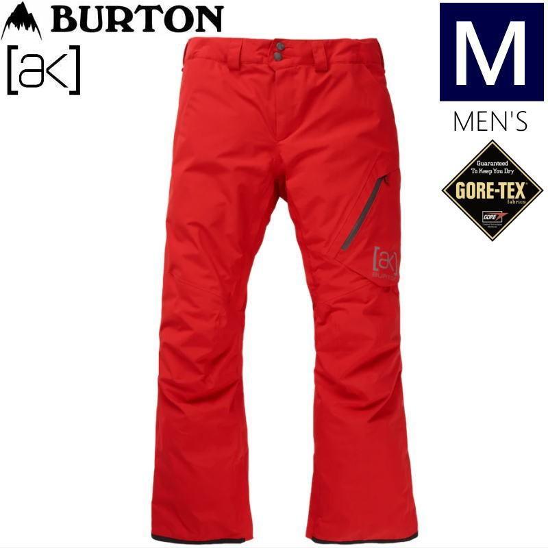 ☆メンズ[Mサイズ]20 BURTON [ak] GORE-TEX CYCLIC PNT カラー:FLAME SCARLET バートン ゴアテックス スキー スノーボードウェア メンズパンツ
