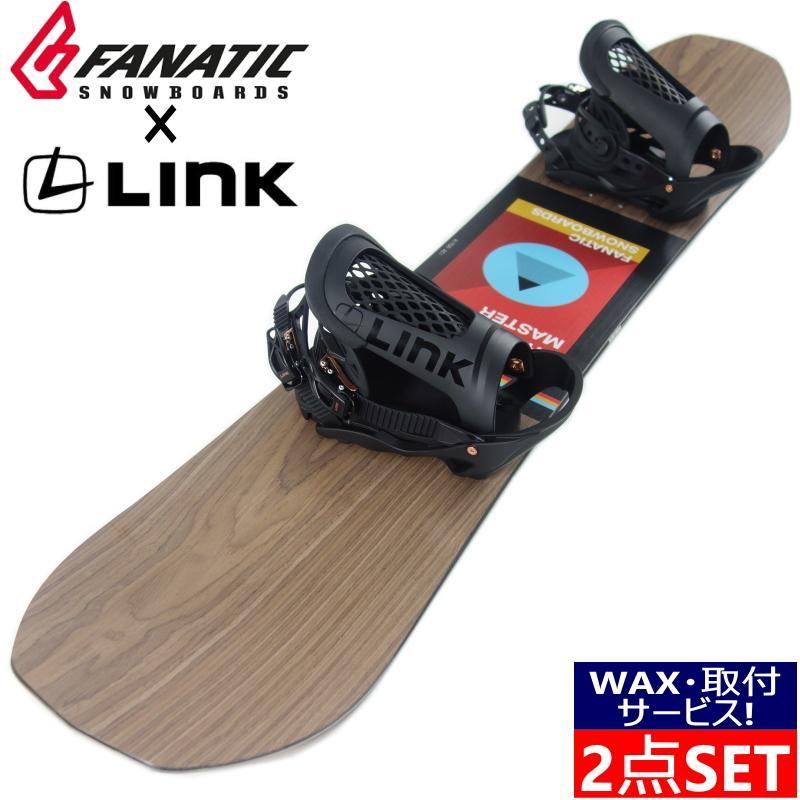 138cm 19-20 FANATIC TRICKMASTER + LINK REBORN カラー:BLACK GOLD レディース スノーボード 板 ファナティック バインディング付き2点セット 日本正規品