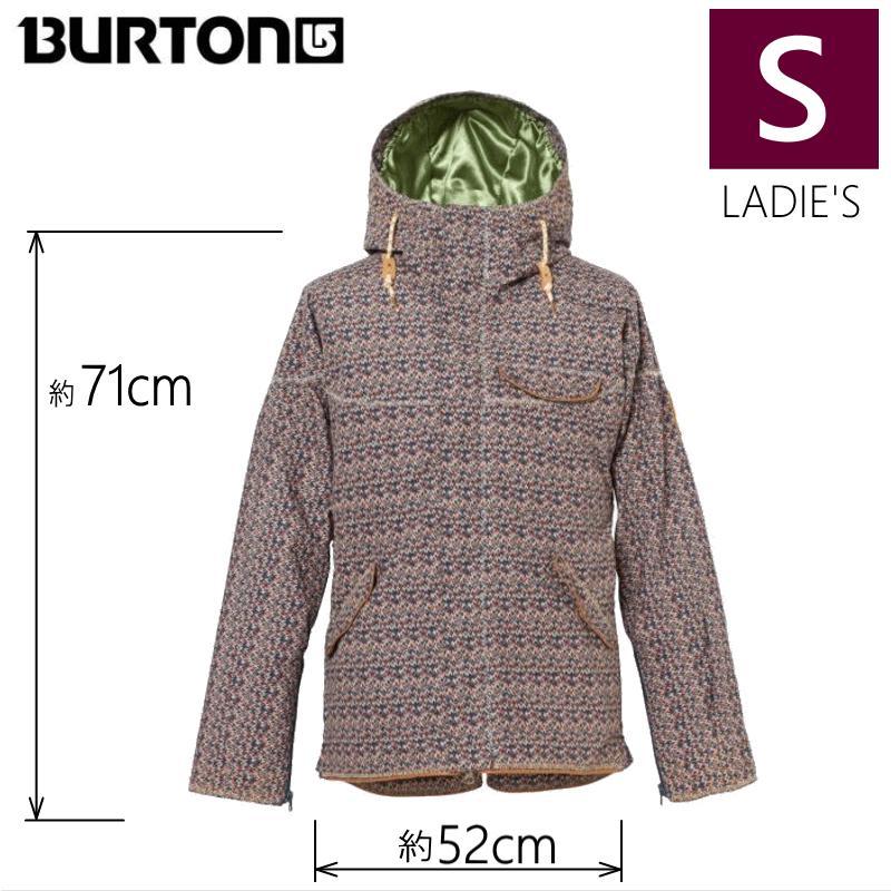 ●レディース[Sサイズ] BURTON ZINNIA JKT カラー:SUNSET MTN スキーやスノーボードのウェア バートンのウィメンズジャケット! レディース 型落ち 旧モデル