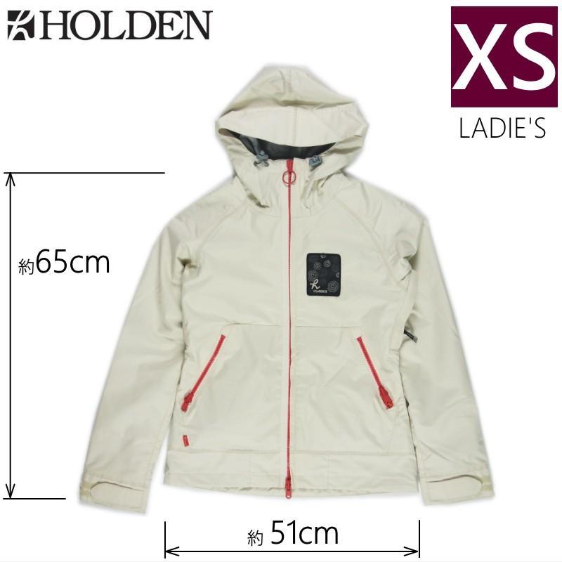 【ラス1】□レディース[XSサイズ]HOLDEN PATCH JKT カラー:CANVAS ホールデンのスキー・スノーボード用アウターウェア 型落ち 旧モデル