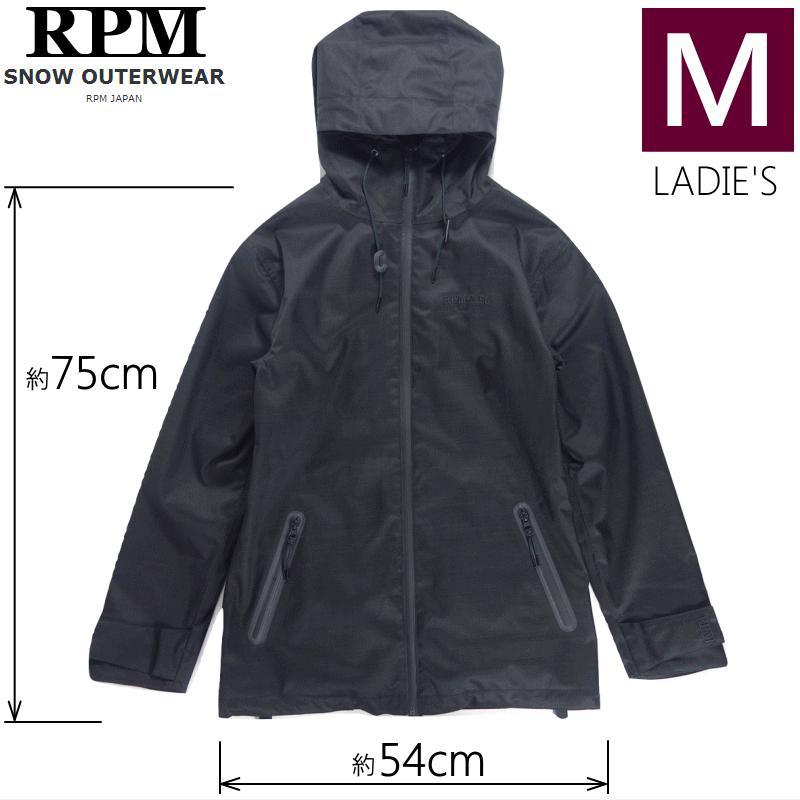 ◎レディース[Mサイズ]18 RPM Stefi JKT カラー:黒 アールピーエム スキー スノーボードウェア シュテフィジャケット JACKET ウーマンズ 日本正規品