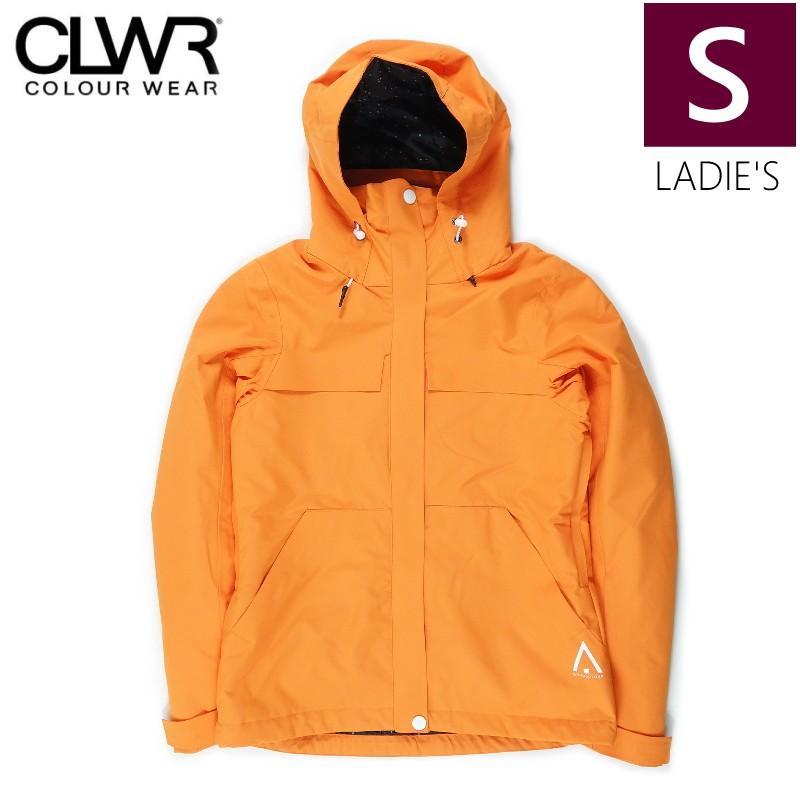 ★レディース[Sサイズ]CLWR BASE JKT カラー:MANDARIN カラーウェア レディース スキー スノーボードウェア JACKET 日本正規品 COLOUR WEAR型落ち 旧モデル