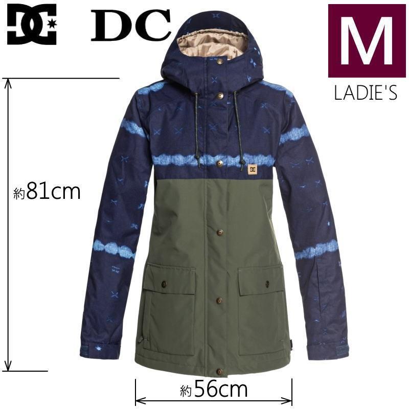 ★レディース[Mサイズ]19 DC CRUISER JKT カラー:BSN8 ディーシー スキー スノーボードウェア ウーマンズジャケット JACKET EDJTJ03036 日本正規品