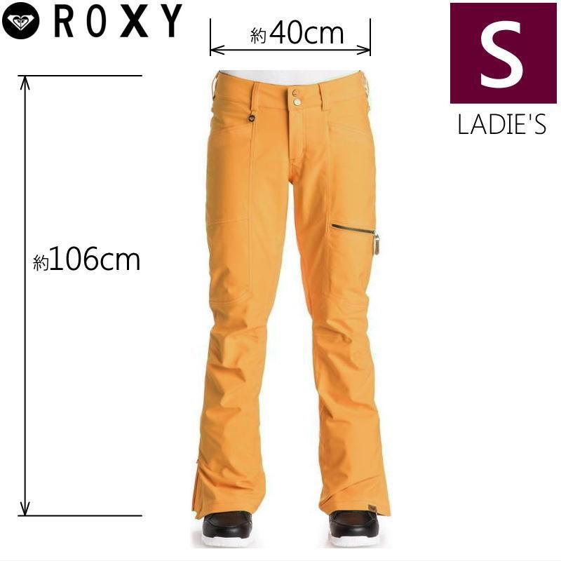 ●レディース[Sサイズ] ROXY CABIN PNT カラー:NHP0 ロキシーのスノーボード用アウターウェア ポップなカラーがかわいいウーマンズパンツ オレンジ PANT 型落ち