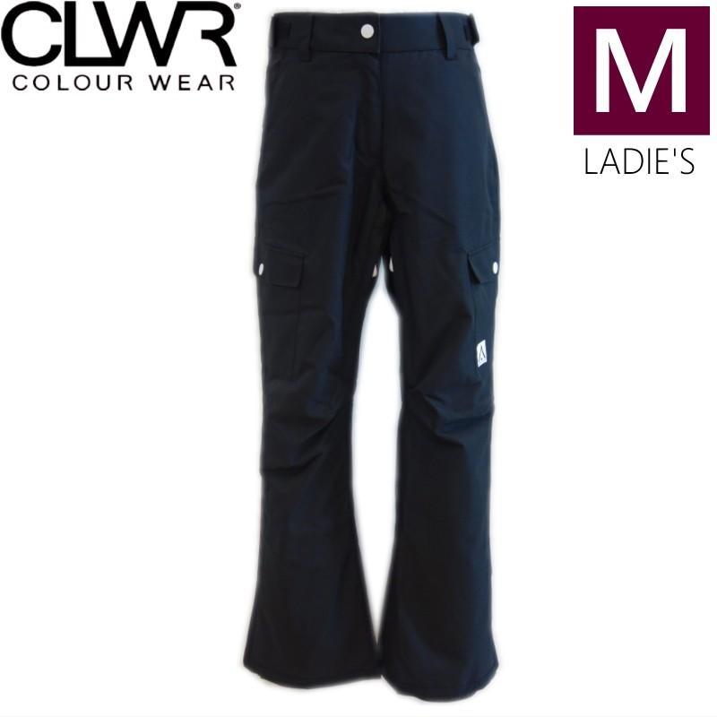 ◎レディース[Mサイズ]18 CLWR WTTR PNT カラー:黒 スノーボード ウェア レディース ウーマンズ パンツ PANT カラーウェア スノボウェア 型落ち