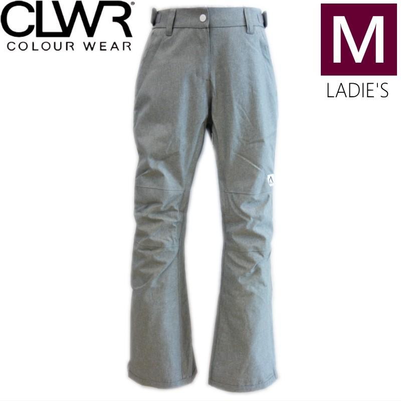 ◎レディース[Mサイズ]18 CLWR STAMP PNT カラー:グレー Melange スノーボード ウェア レディース ウーマンズ パンツ PANT カラーウェア スノボウェア 型落ち