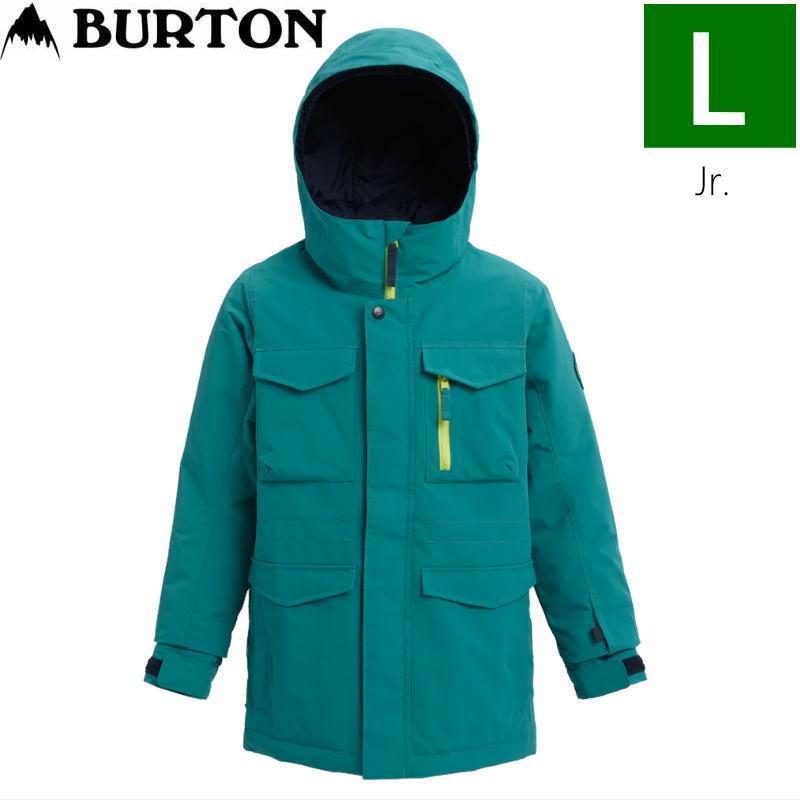 ☆キッズ ジュニア[Lサイズ]20 BURTON COVERT JKT カラー:緑-青 バートン スキースノーボードウェア キッズジュニアウェア コバートジャケット