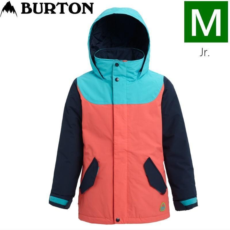 ☆キッズ ジュニア[Mサイズ]20 BURTON ELODIE JKT カラー:青 CURACAO DRESS 青 GEORGIA PEACH バートン スキースノーボードウェア