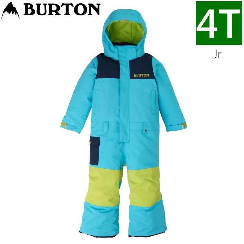 ☆キッズ ジュニア[4Tサイズ]20 BURTON TODDLER KIDS STRIKER ONEPIECE カラー:青 CURACAO バートン スキースノーボードウェア キッズジュニア ワンピース