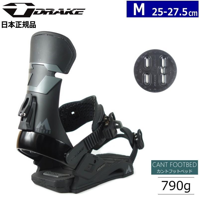 本物 ☆[MLサイズ]20 DRAKE RELOAD カラー:BLACK ドレイク リロード スノーボードビンディング バインディング 日本正規品, MOMIJIMARU JAPAN 4c16d81f