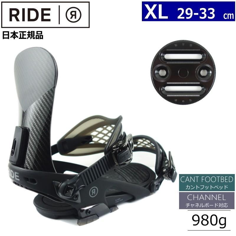 2019人気特価 ◎[XLサイズ]RIDE EL HEFE カラー:BLACK ライド エルヘフェ スノーボードビンディング バインディング 型落ち 日本正規品, ユニフォームストア「G-uniform」 0f933e1d