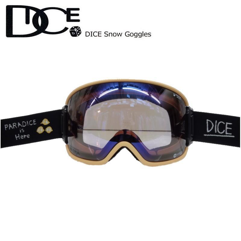 ☆20 DICE BANK カラー:KM4K OR レンズ:フォトクロミック(調光) ウルトラライトパープル アイスミラー ダイス カモシカコラボ 調光レンズ搭載 NEWモデル♪