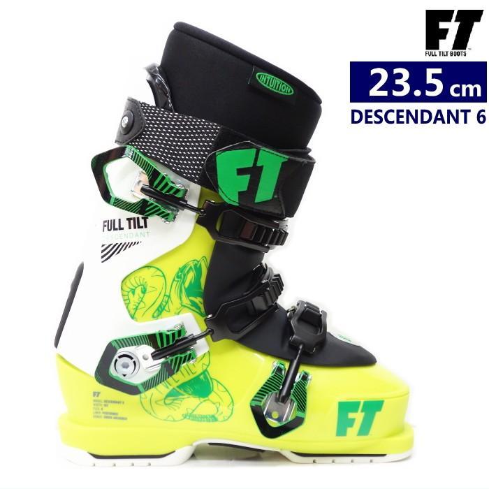 ●[23.5cm]FULL TILT DESCENDANT 6 足入れしやすいフルチルトの3ピーススキーブーツ 日本正規品(保証書・店印有)【型落ち 旧モデル】