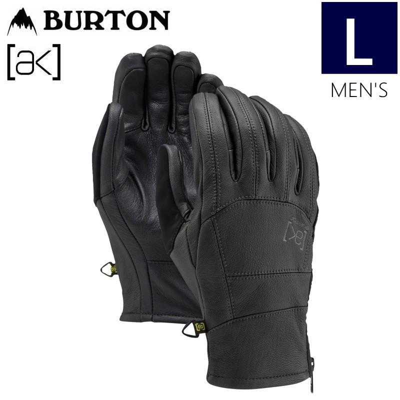 ☆メンズ[Lサイズ]20 BURTON [ak] LEATHER TECH GLOVE カラー:TRUE 黒 バートン スキー スノーボード メンズ 手袋 グローブ 日本正規品