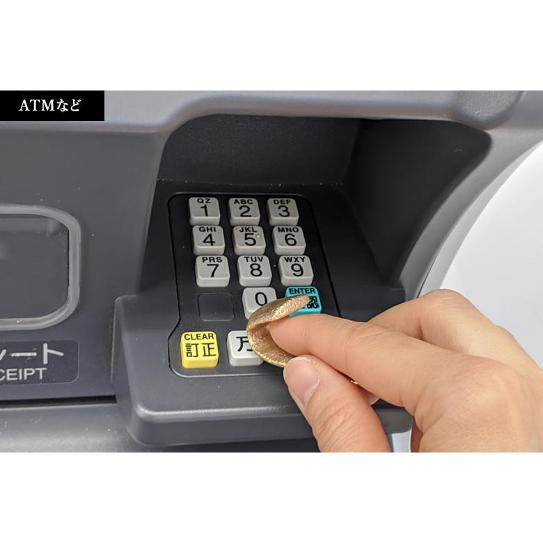 KAMAHACHI Kohkin Key ドアオープナー 銅合金製抗菌 鍵 キーリング ロケット品質で鋳造  潔癖症 グッズ つり革 ドアノブ ATM エレベーター ボタン タッチパネル offer1999 10