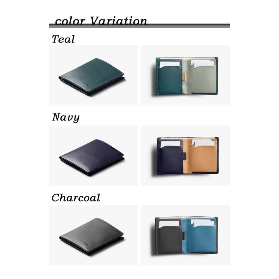 【在庫限りで販売終了】【ポイント15倍☆】財布 二つ折り財布 スリムタイプ ベルロイ 薄い財布 Bellroy Note Sleeve Wallet RFID機能搭載 極薄 財布 offer1999 02