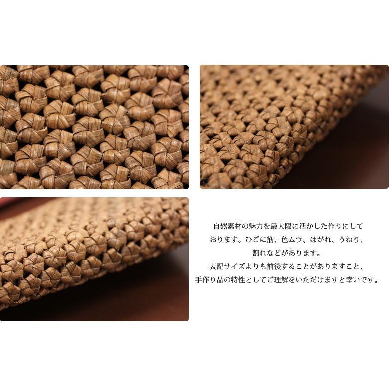 財布 その他長財布 山葡萄 財布 花編み 品番:tsunagu001&SHOKUの布カードケース&手紡ぎ、草木染の手織り布を使用したカードケースセット 送料無料 offer1999 05