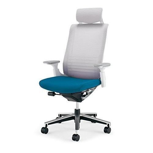 コクヨ オフィスチェア オフィスチェア インスパイン CRGA2515E1GMT4W 背ホワイト 座ターコイズ