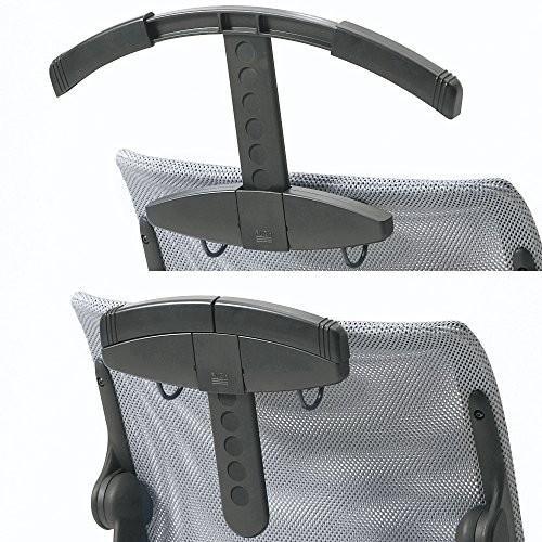 プラス オフィスチェア オフィスチェア パフォーマSF 専用ジャケットハンガー HG-M9S ヘッドレスト用
