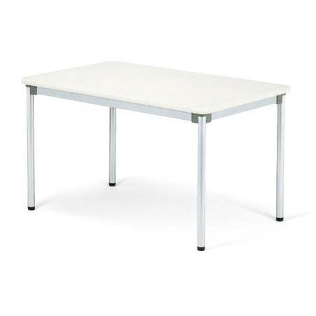 アイコ テーブル 幅120×奥行75CM 粉体塗装脚 棚無し AS-1275 MPL M1