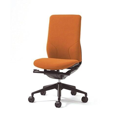 プラス プラス オフィスチェア BE KC-MA60SL 肘なし オレンジ