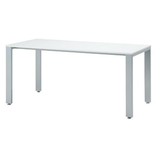 井上金庫 1枚天板ミーティングテーブルUTS-1875 ホワイト