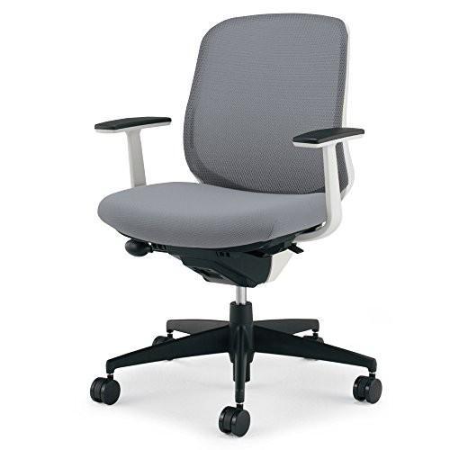 コクヨ 配送・組立・設置込 オフィスチェア シロッコ シロッコ CR-G2601E1G4E3-V ローバック T型肘 ホワイトフレーム 背座同色 ソフ