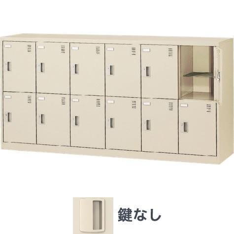 生興 SLC-12Y-K 横型12人用ロッカー 鍵なし 6列2段|offic-one