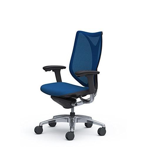 オカムラ デスクチェア オフィスチェア サブリナ スマートオペレーション ミディアムブルー C883BR-FSY3 C883BR-FSY3