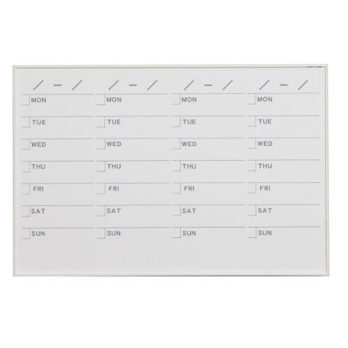 馬印   MR SERIES エムアールシリーズ 壁掛 予定表 スケジュール ホワイトボード W910×H610MM MR23S|offic-one