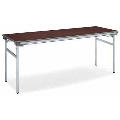 コクヨ   会議用テーブル KT-140シリーズ 脚折りたたみ式 会議用テーブル 棚付き 幅1500×奥行き450×高さ700MM カラー F1|offic-one