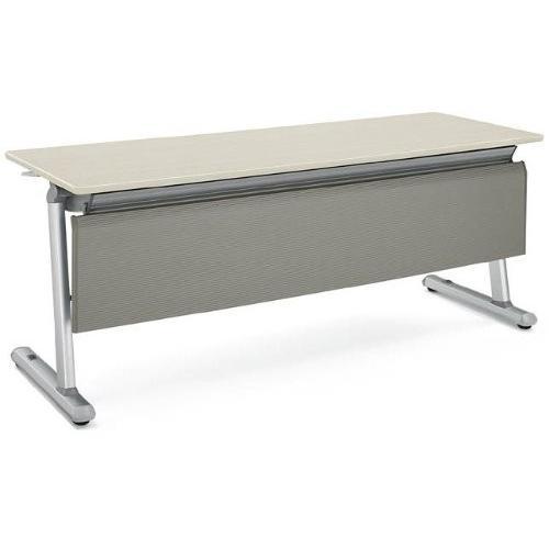 コクヨ KT-920シリーズ 会議用テーブル天板フラップ式 樹脂幕板付き 樹脂幕板付き 直線 幅1800MM×奥行600MM カラー P1M