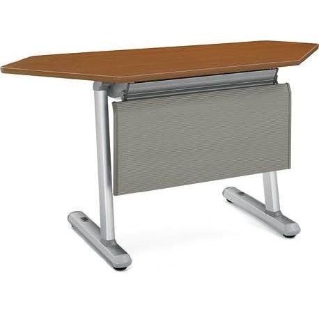 コクヨ   KT-920シリーズ 会議用テーブル天板フラップ式 幕板なし コーナー 幅1588MM×奥行600MM カラー P1M|offic-one