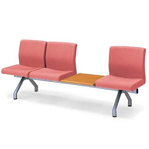 コクヨ ロビーチェアー470シリーズ 4連テーブル付きチェアー カラー G829