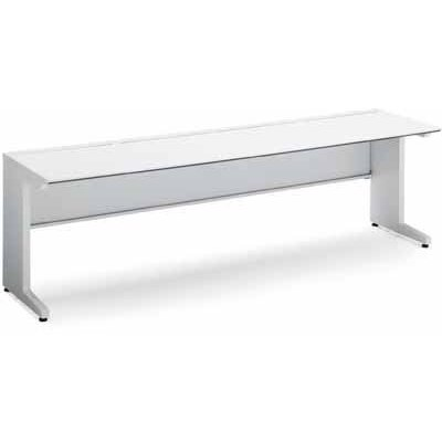 コクヨ ISデスクシステム スタンダードテーブル 幅700×奥行き700MM 天板色 M55 ブラウン